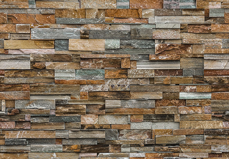 colorful stone wall mural dm159 by ideal decor