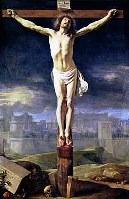The Crucifixion of Christ Wall Mural