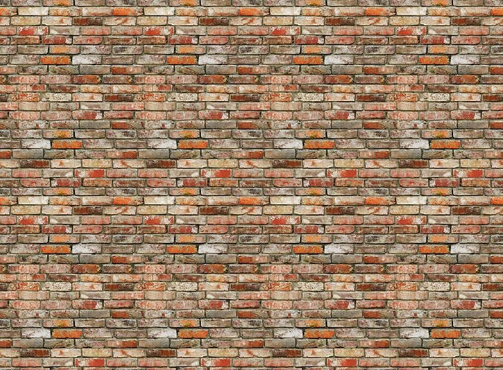 Backstein brick wall wall mural ds8096 for Brick wall mural