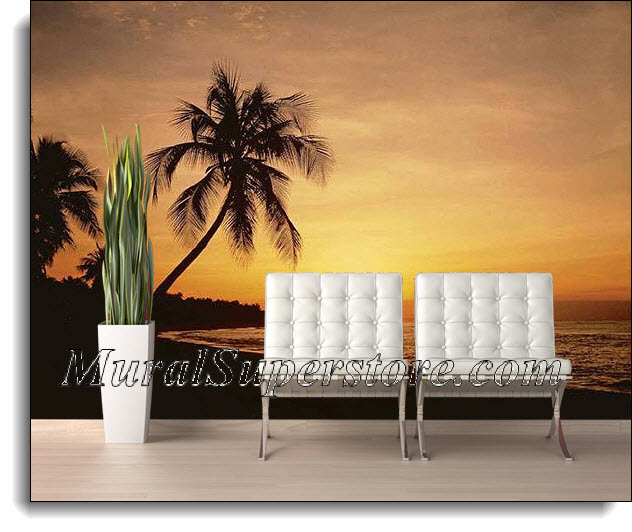 Key West Florida at Sunset Wall Mural DS8028