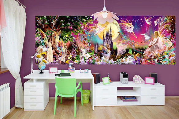 Fairyland DM311 Wall Mural Roomsetting