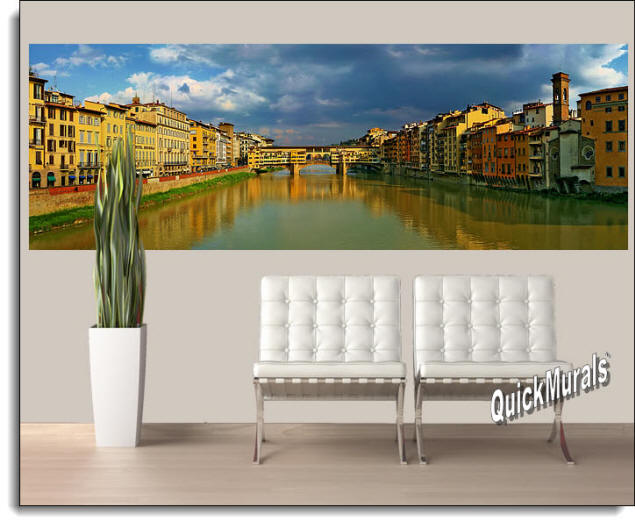 Florence, Italy Wall Mural Roomsetting