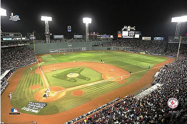 Boston Red Sox Fenway Park 2004 World Series Game 2