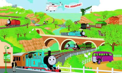 Charming Http://muralsuperstore.com/catalog/AAAAA New Pics/ Thomas The Tank  Engine YH1415M