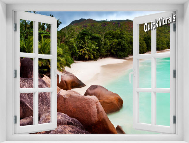 Barbados Island Window