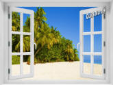 Boracay Island Window