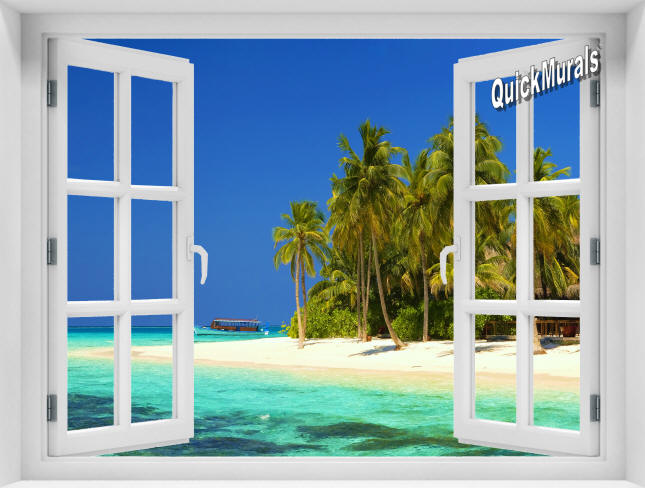 Cook Island Window