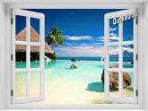 Turtle Island Fiji Window