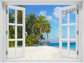 Island Vacation Window