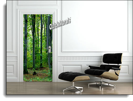 Majestic Forest Wall Mural Roomsetting