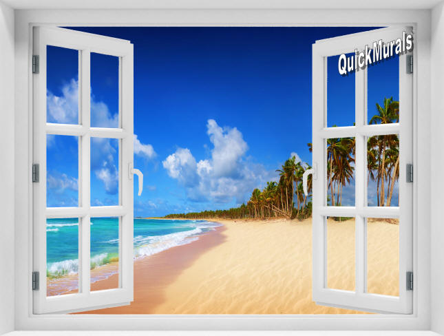 Seychelles Islands Window