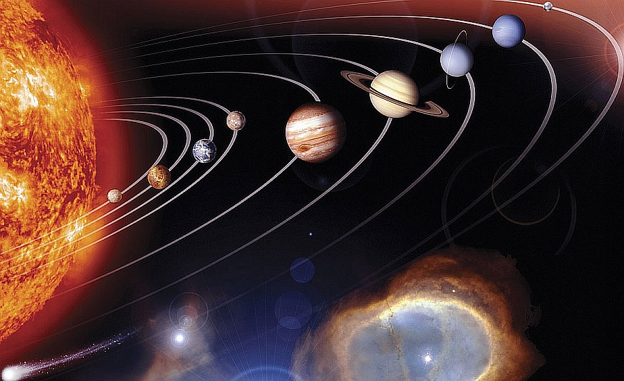 Solar system c833 wall mural by environmental graphics for Environmental graphics wall mural